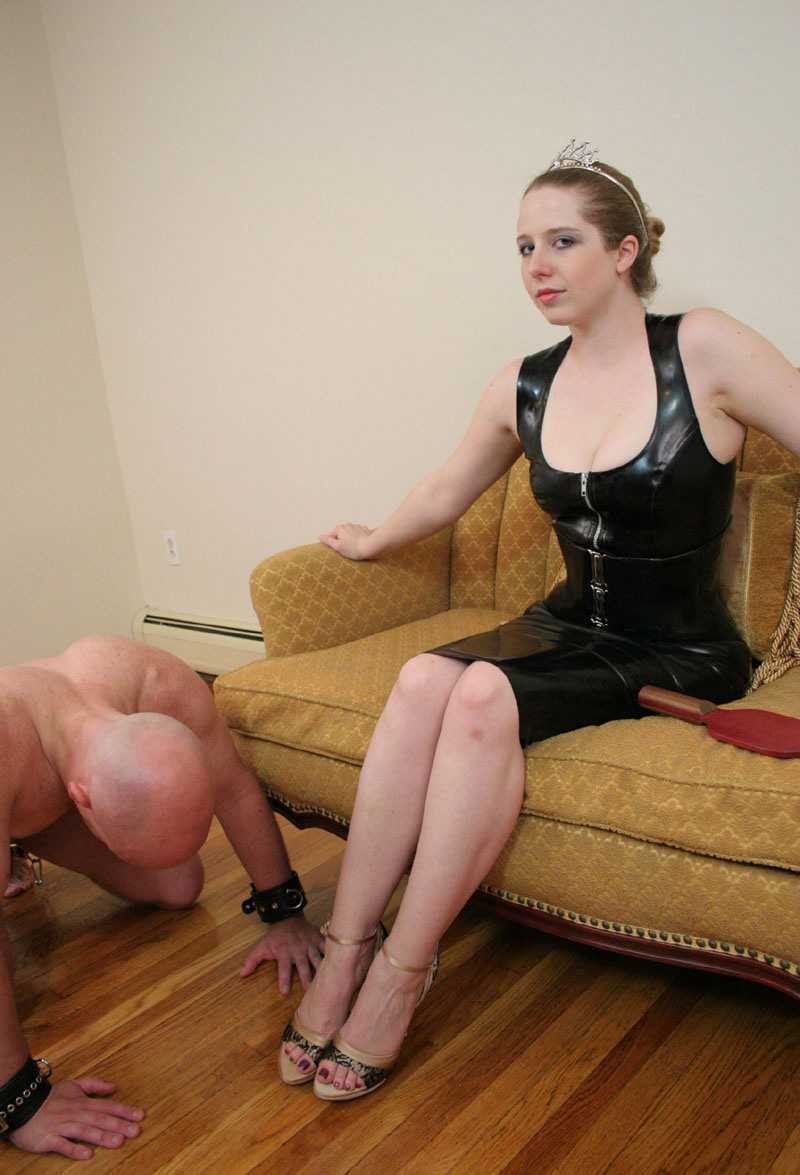 Gangbang in leather free video clips