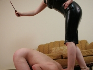 Domination female spanking