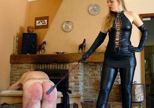 Brutal Spanking Mistress