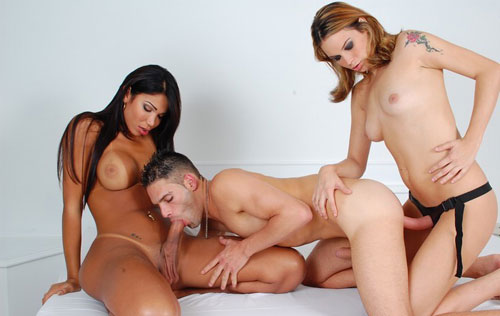 Femdom With Shemale