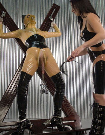 Cock Torture In Latex