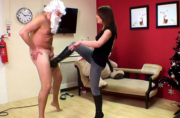 Ballbusting Boots